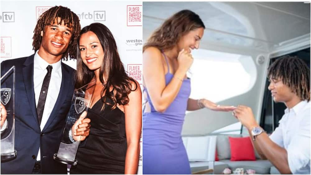 Nathan Ake proposes to girlfriend shortly after agreeing move to Man City