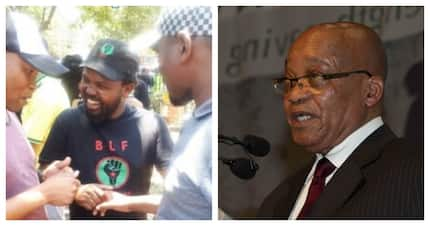 Mngxitama couldn't speak at Zuma's court case since he's a Ramaphosa critic