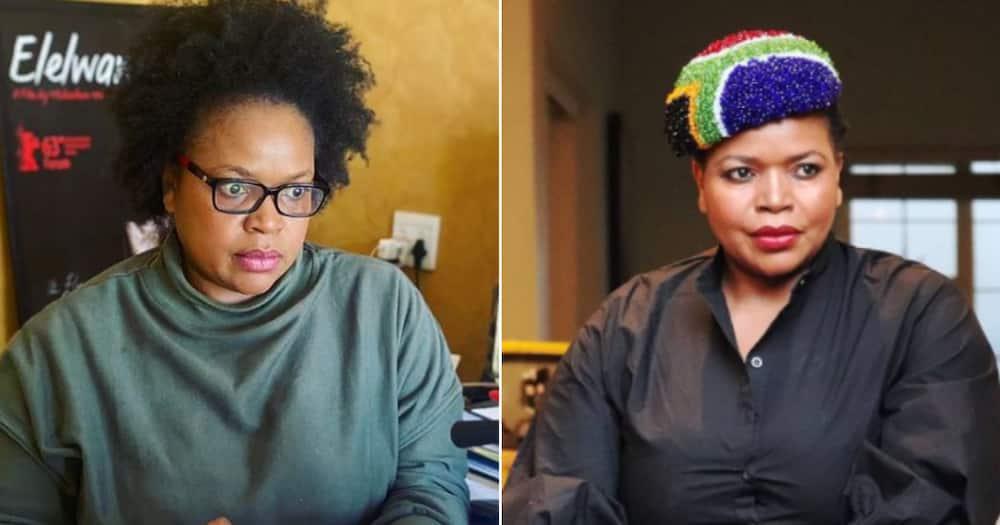 Florence Masebe, coronavirus vaccine, actress, activist