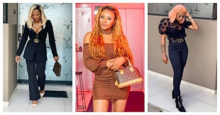 DJ Zinhle claps back on skin bleaching allegations