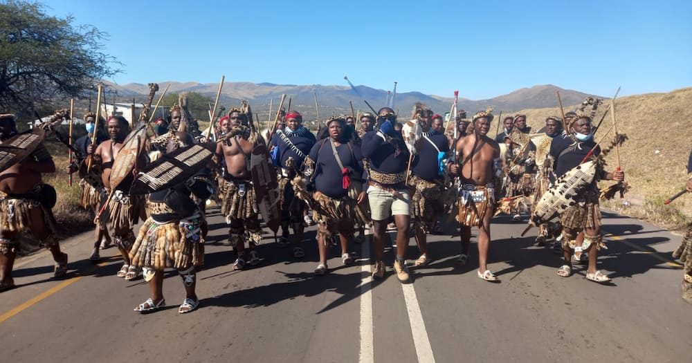 Zuma, Nkandla, Amabutho, King Misuzulu Ka Zwelithini