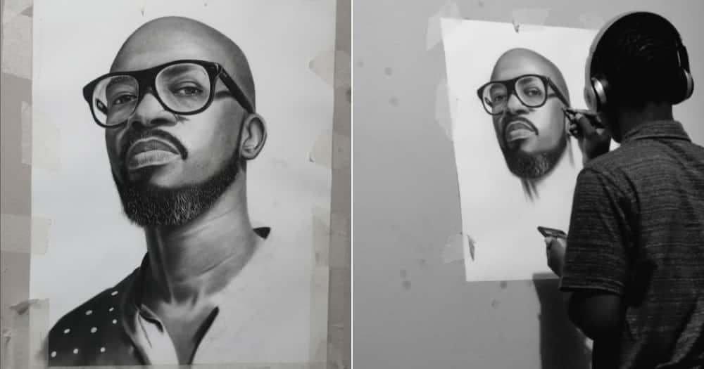 Obakeng Mphahlele, Young artist, DJ Black Coffee, Rasta, Twitter reactions