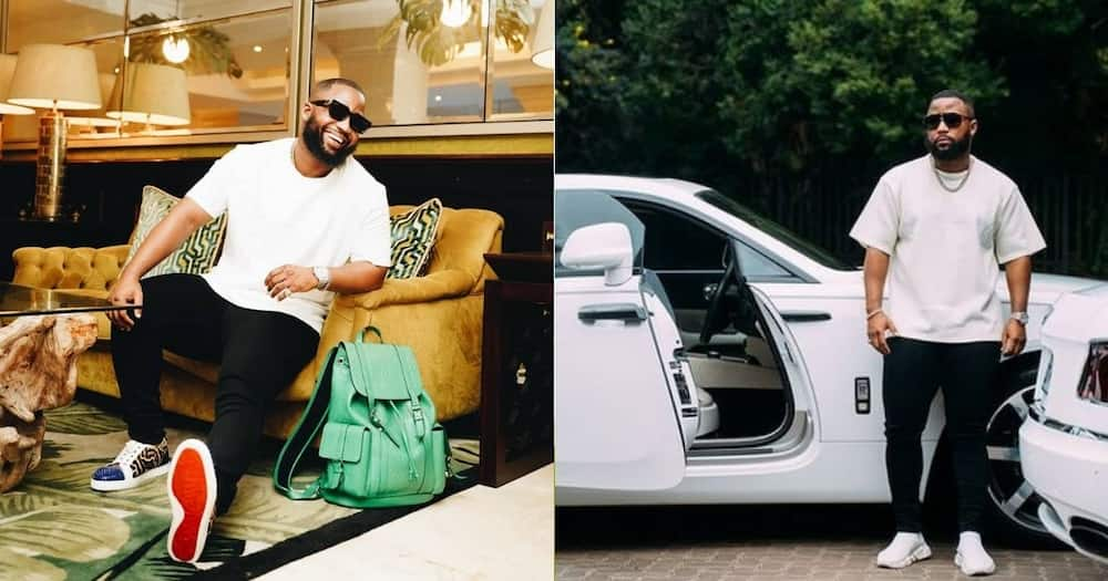 Soft Life: Cassper Nyovest Is Grateful for His Mansion and Bentley