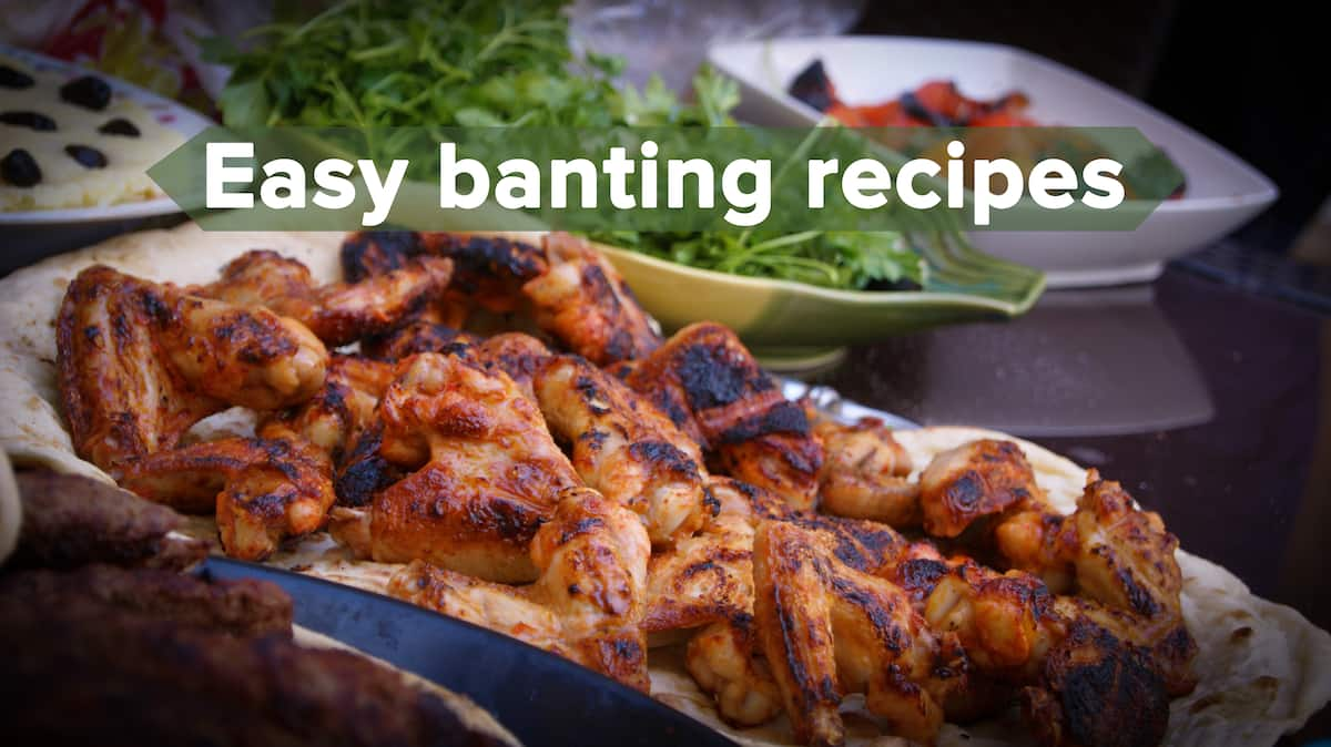 banting diet recipes, banting meals, easy banting recipes