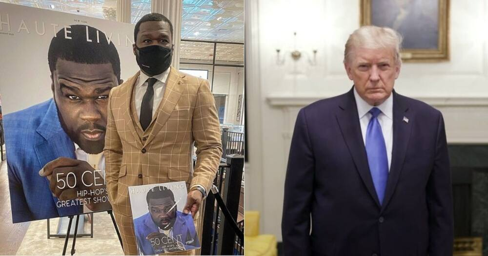 50 Cent takes back Donald Trump endorsement, says he 'never liked' him