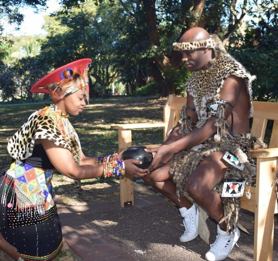 Zulu traditional wedding culture; Ceremony, Colours, Songs