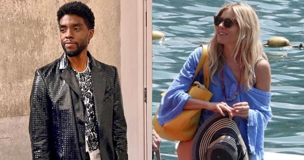 Chadwick Boseman gave away part of 21 Bridges salary to Sienna Miller