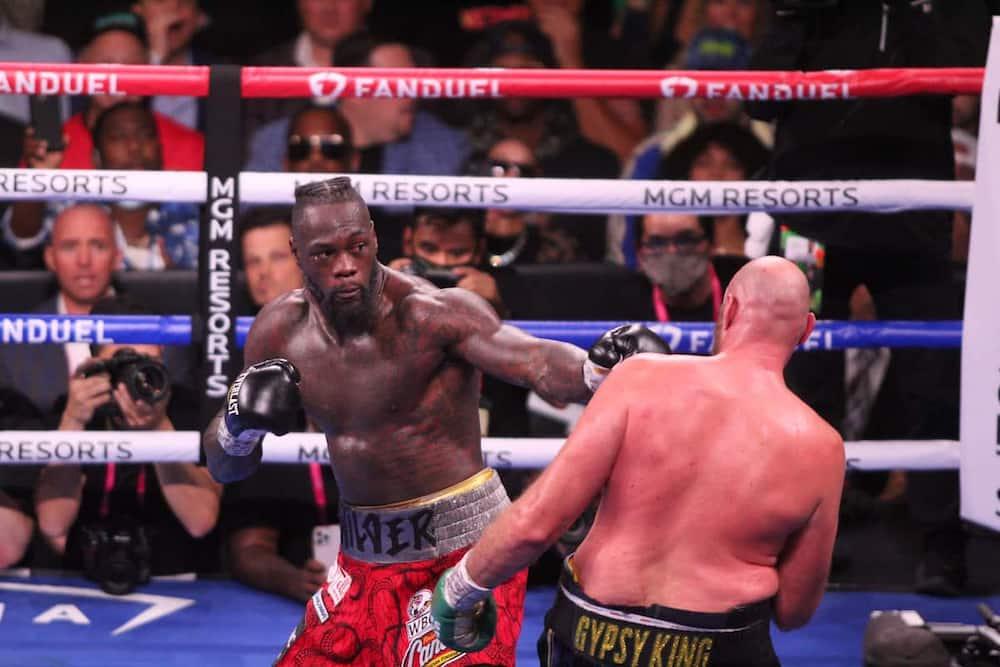 Tyson Fury and Wilder