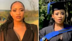 'Class of 2020': Stunning lady graduates cum laude with IT degree