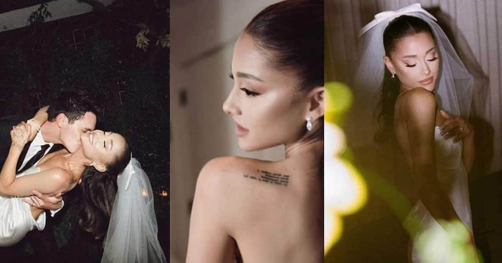 Ariana Grande Releases Beautiful Wedding Photos Weeks after Walking Down the Aisle