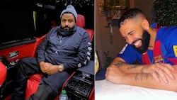 "DJ Khaled hosts dinner for Drake, shares hilarious video: ""Drake just wanna eat"""