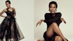Masasa Mbangeni sings her co-star, Bongile Mantsai's, praises