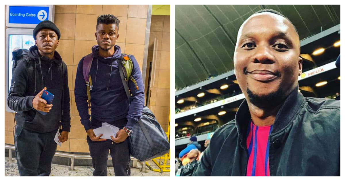 Tensions rise after Black Motion fails to pitch at a gig after being booked by Mo Flava. Image source: Twitter