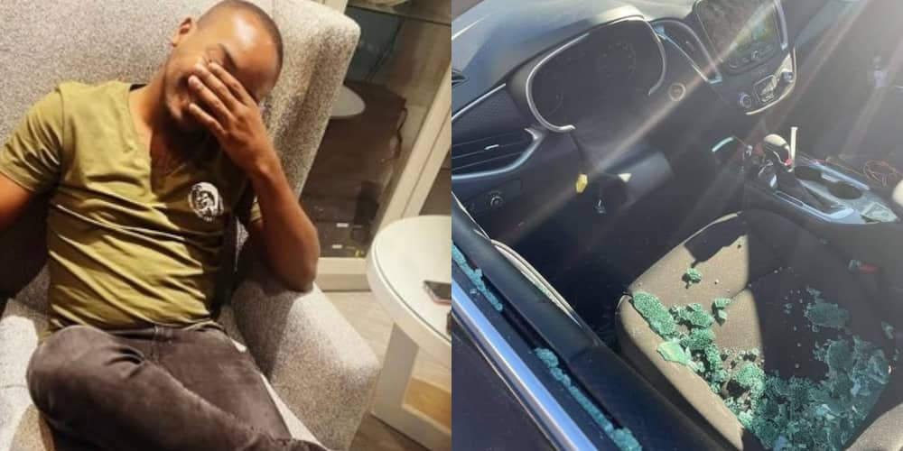 """""""No Steering Wheel and She's Driving You Crazy"""": Man Claims Baby Mama Stole Steering Wheel"""