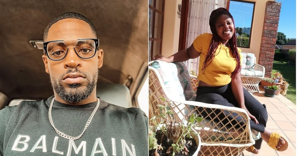 A South African lady has invited Prince KayBee to lunch. Image: @Awonke_Manze/Twitter