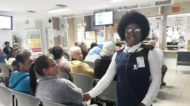 Noluthando Tibini boasts 38 years in the nursing profession. Photo credit: Daily Sun