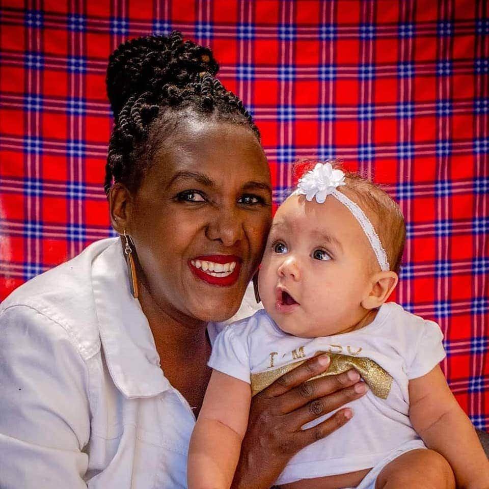 Woman who got married after beating cancer thanks God for giving her baby at 46