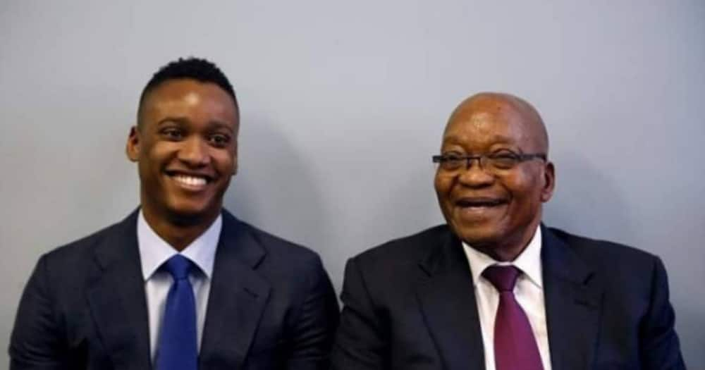 Duduzane Zuma declares his intention of running for president of the ANC