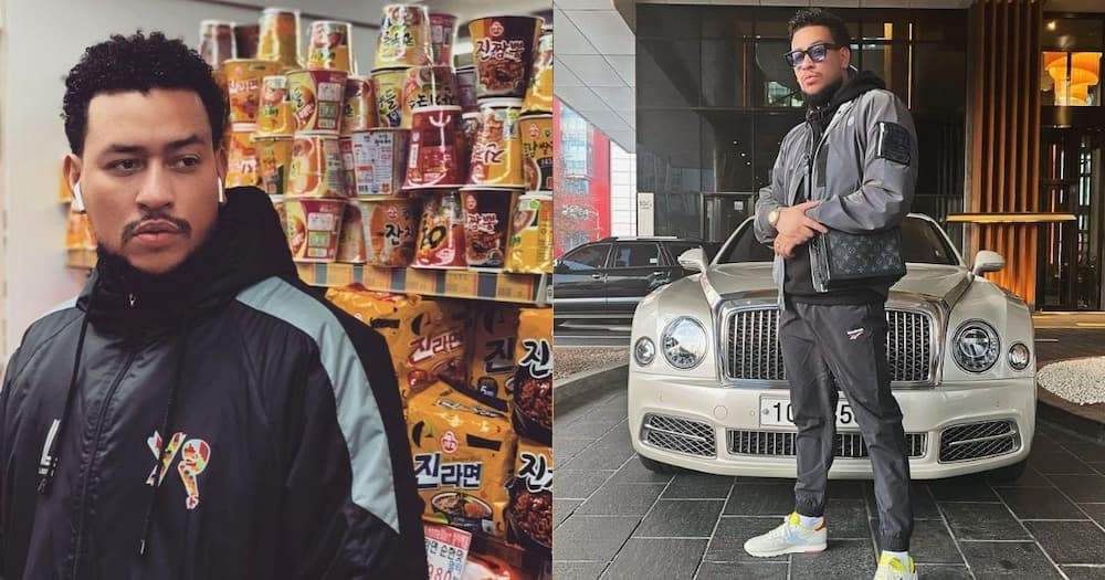 AKA responds to his banana-flavoured vodka shade, calls it a blessing