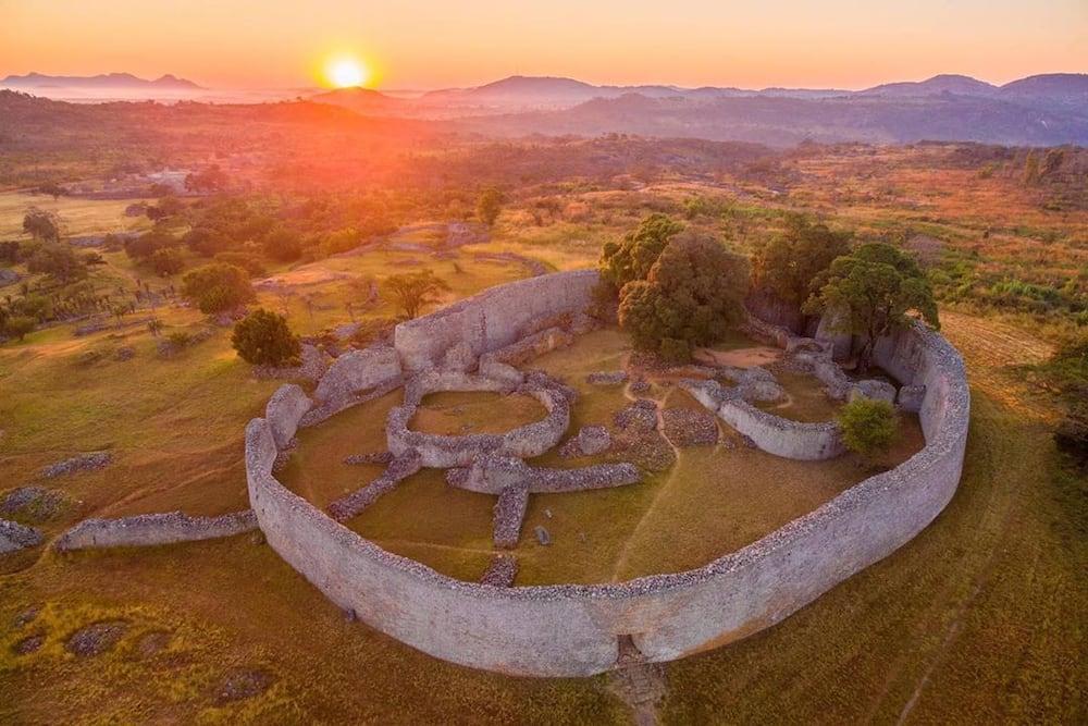 Old castles in Africa