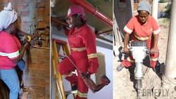 Proud female plumber Sthando Cele wants to open doors for women