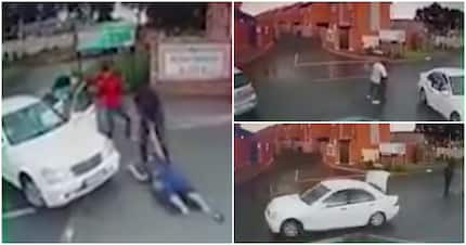 Video shows hijacking, kidnapping of Centurion woman in broad daylight