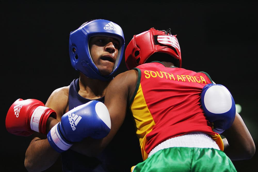 South African middleweight boxers