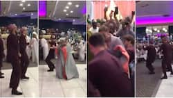 Groom and his groomsmen light up dancefloor with amazing moves in viral video