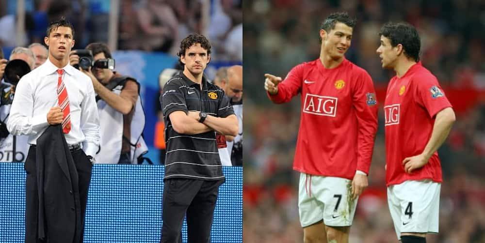 Owen Hargreaves, Former, Manchester United, Teammate, Cristiano Ronaldo