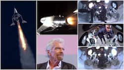 Billionaire businessman leaves earth, travels to space, will study environment before asking people to pay