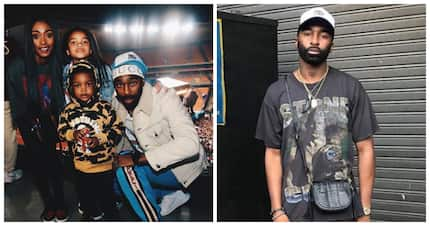 Riky Rick shows Mzansi that rappers can be super cute fathers too