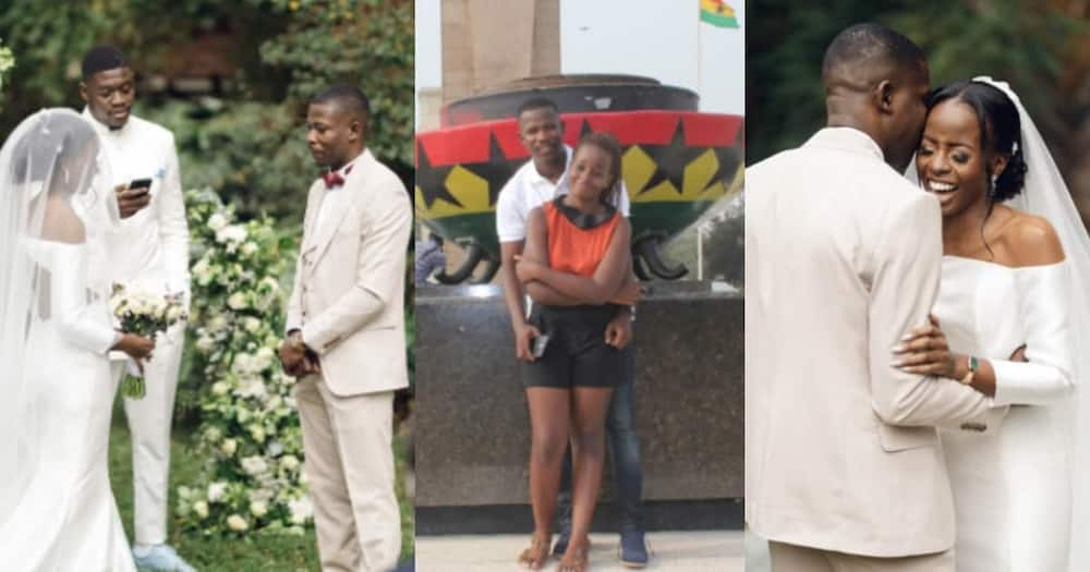 Tour guide, tourist, get married, 6 years, Ghana
