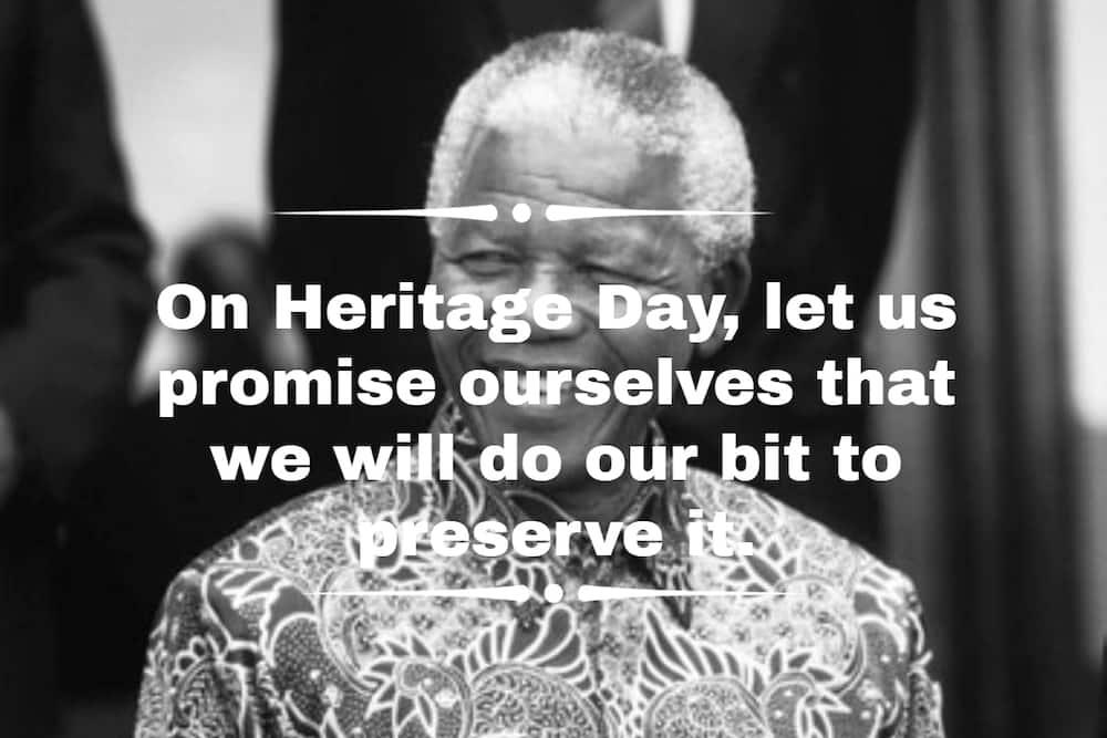 Heritage Day quotes Nelson Mandela