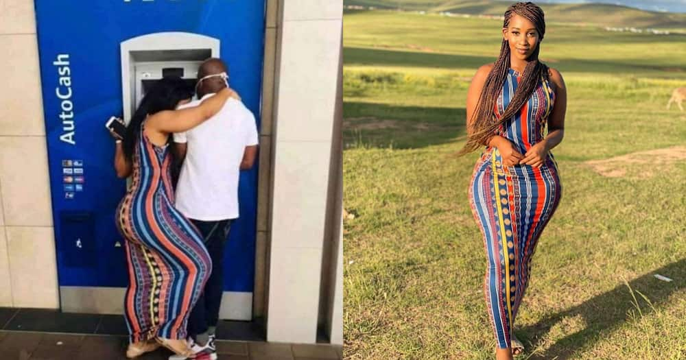 Stunning SA journalist reacts to hilarious pic of ATM lady lookalike
