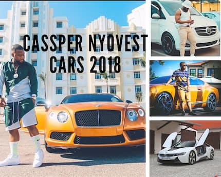 See what cars Cassper Nyovest owns and how much they all cost.