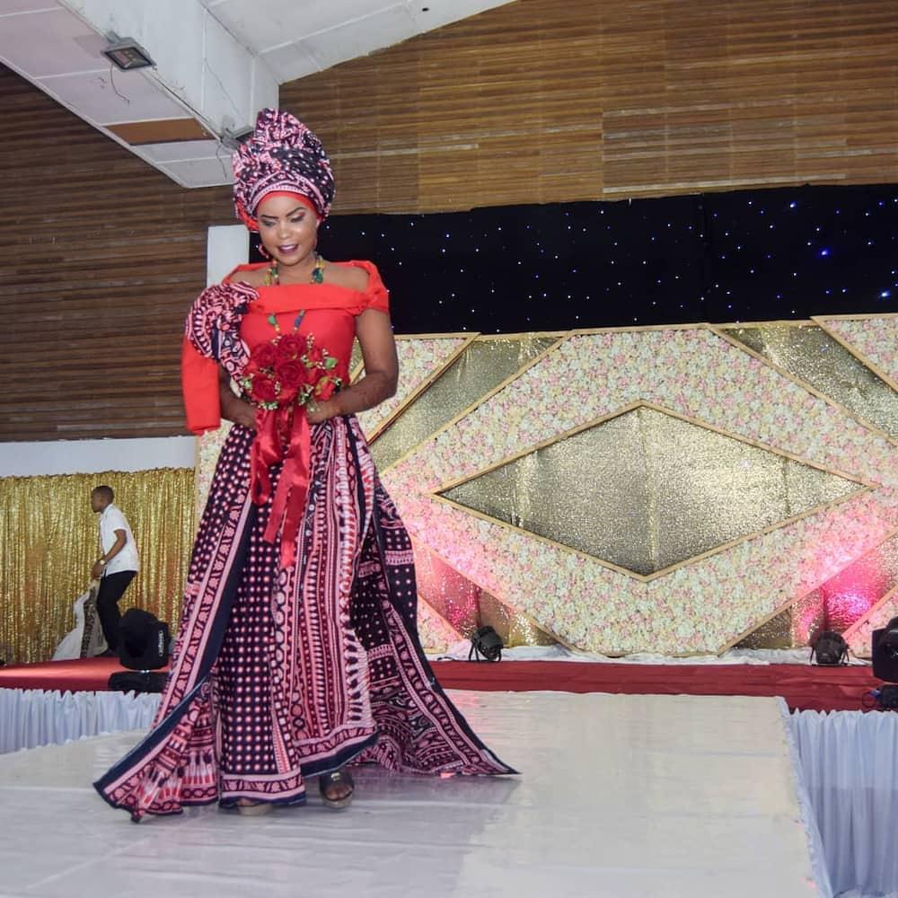 Mijikenda conventional wedding outfit Kenya