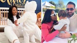A peek into Pearl Modiadie's baby's 1st animal theme birthday safari