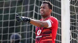 Locals react as Itu Khune gets back into action on the soccer field