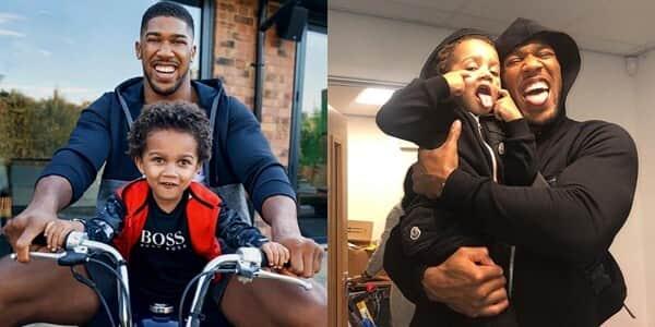 Joseph 'JJ' Joshua: Meet Anthony Joshua's 4-year-old rarely seen son