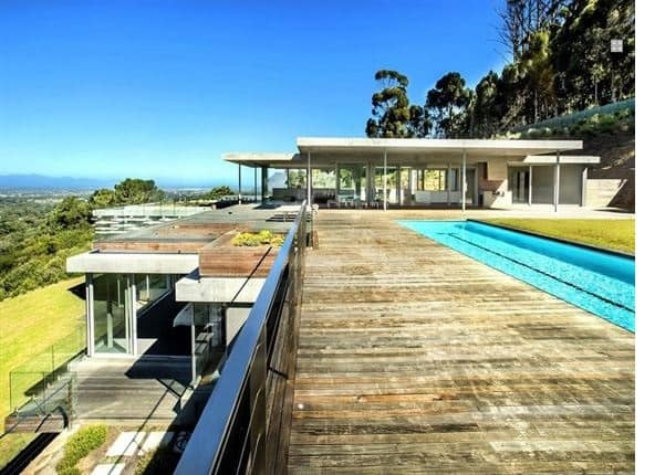 who owns the most expensive house in South Africa?