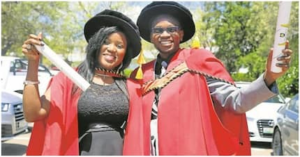 Couple graduates with PhDs together from University of Fort Hare