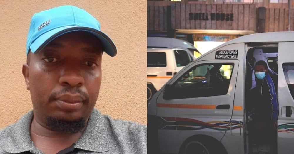 Man, gratitude, SA's taxi drivers