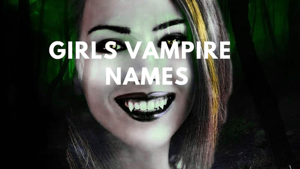 Vampire names and their meanings