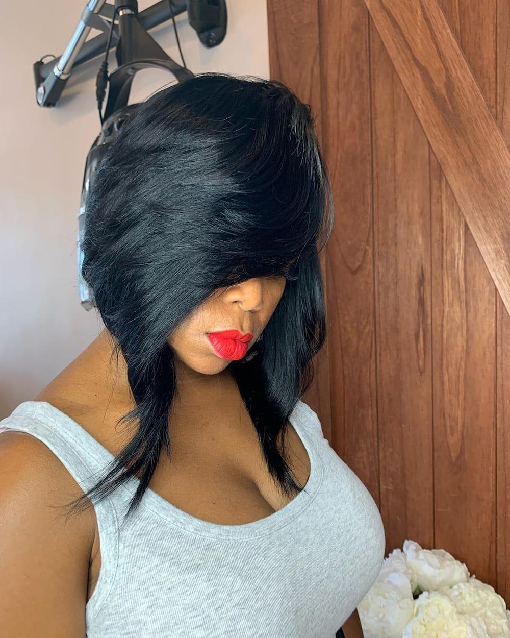 27 short bob hairstyles for black women trending in 2020