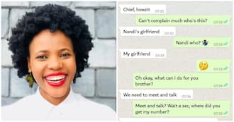 Boyfriend confronts bae's crush then inexplicably asks him for airtime