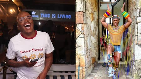 """""""Proud"""": Somizi shares powerful snap celebrating his Ndebele roots on Heritage Day"""