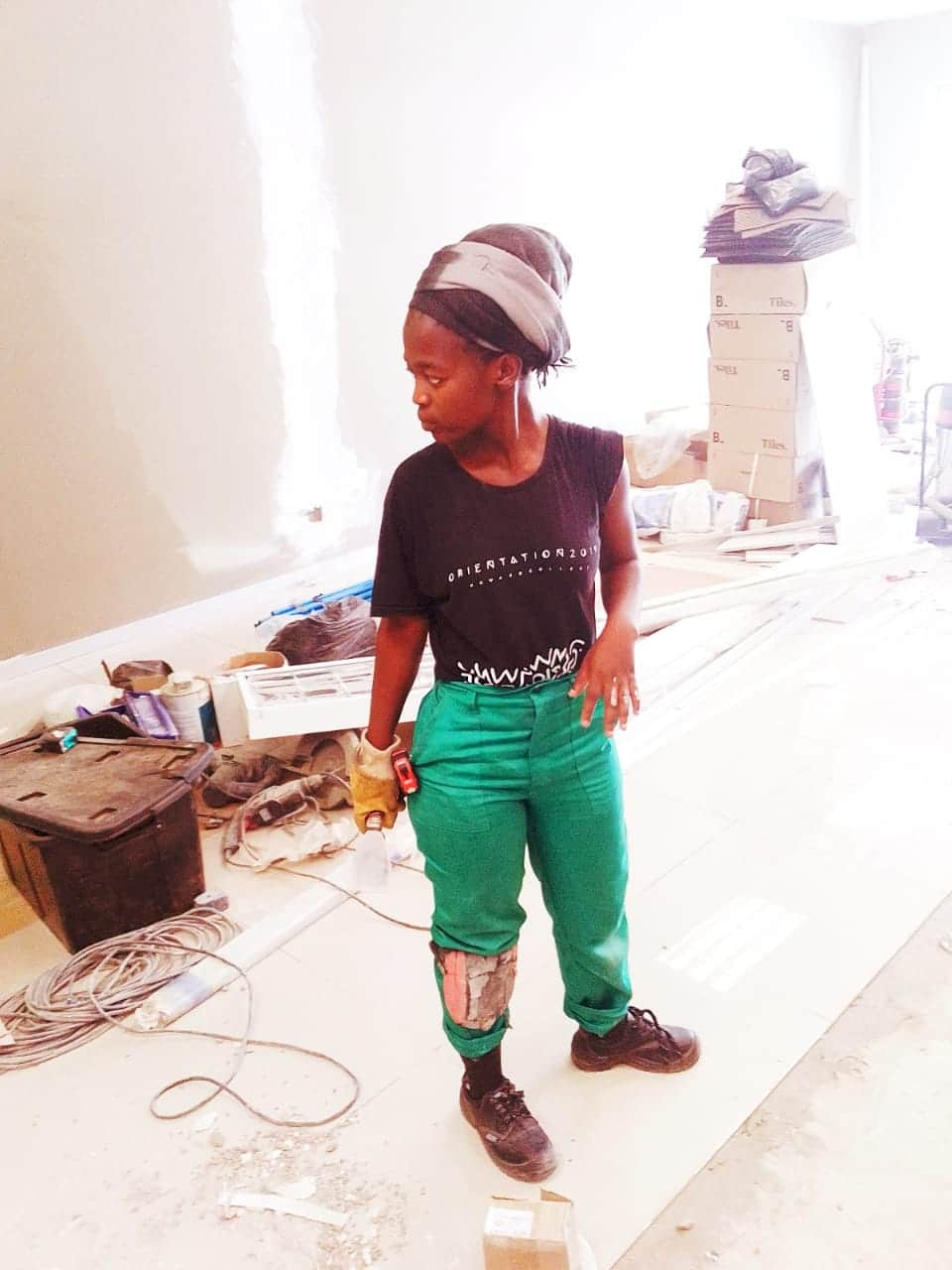 Meet the fearless female builder taking on the man's world