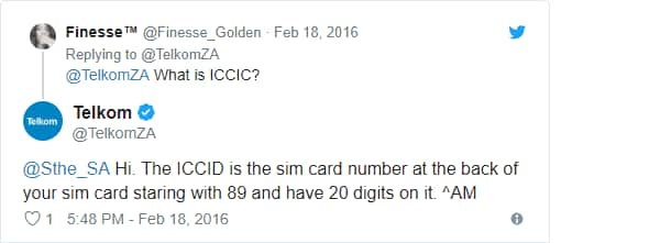 iccid number on sim card