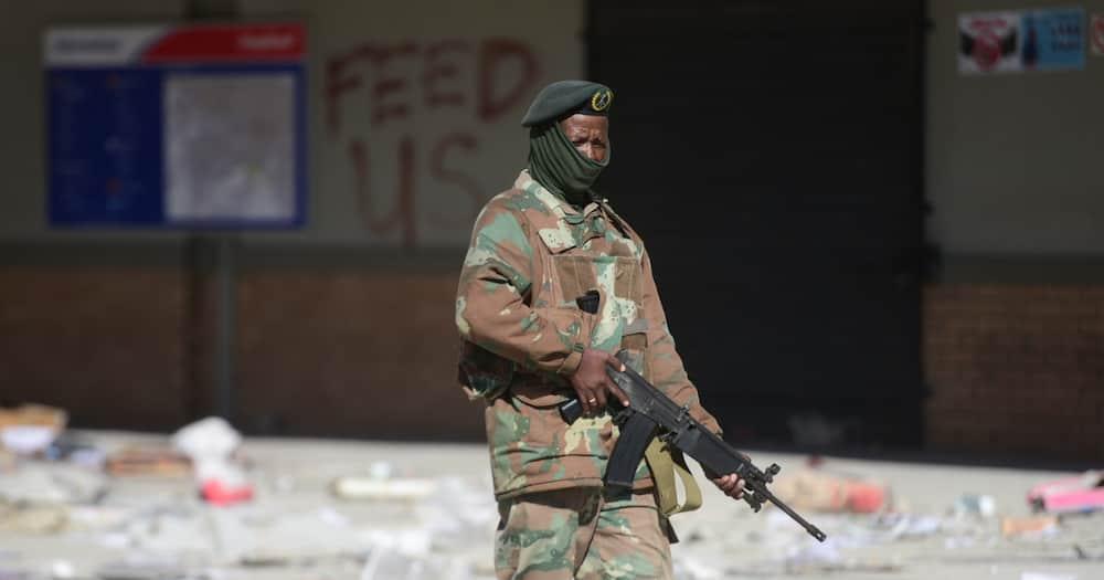 SANDF, 25 000 Soldiers Deployed, KwaZulu-Natal, Gauteng, Riots, Protests, Looting