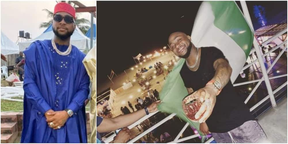 Singer Davido to be best man at his driver's wedding